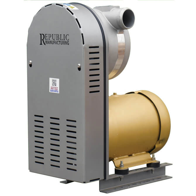 Small Centrifugal Blowers : Rb high capacity centrifugal blower